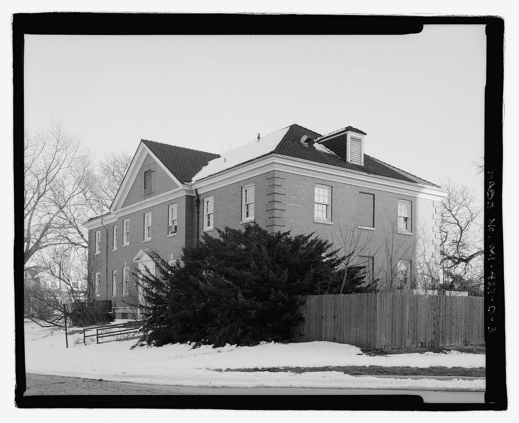 Allen Park Veterans Administration Hospital, Building No. 8, Southfield Expressway & Outer Drive, Allen Park, Wayne County, MI