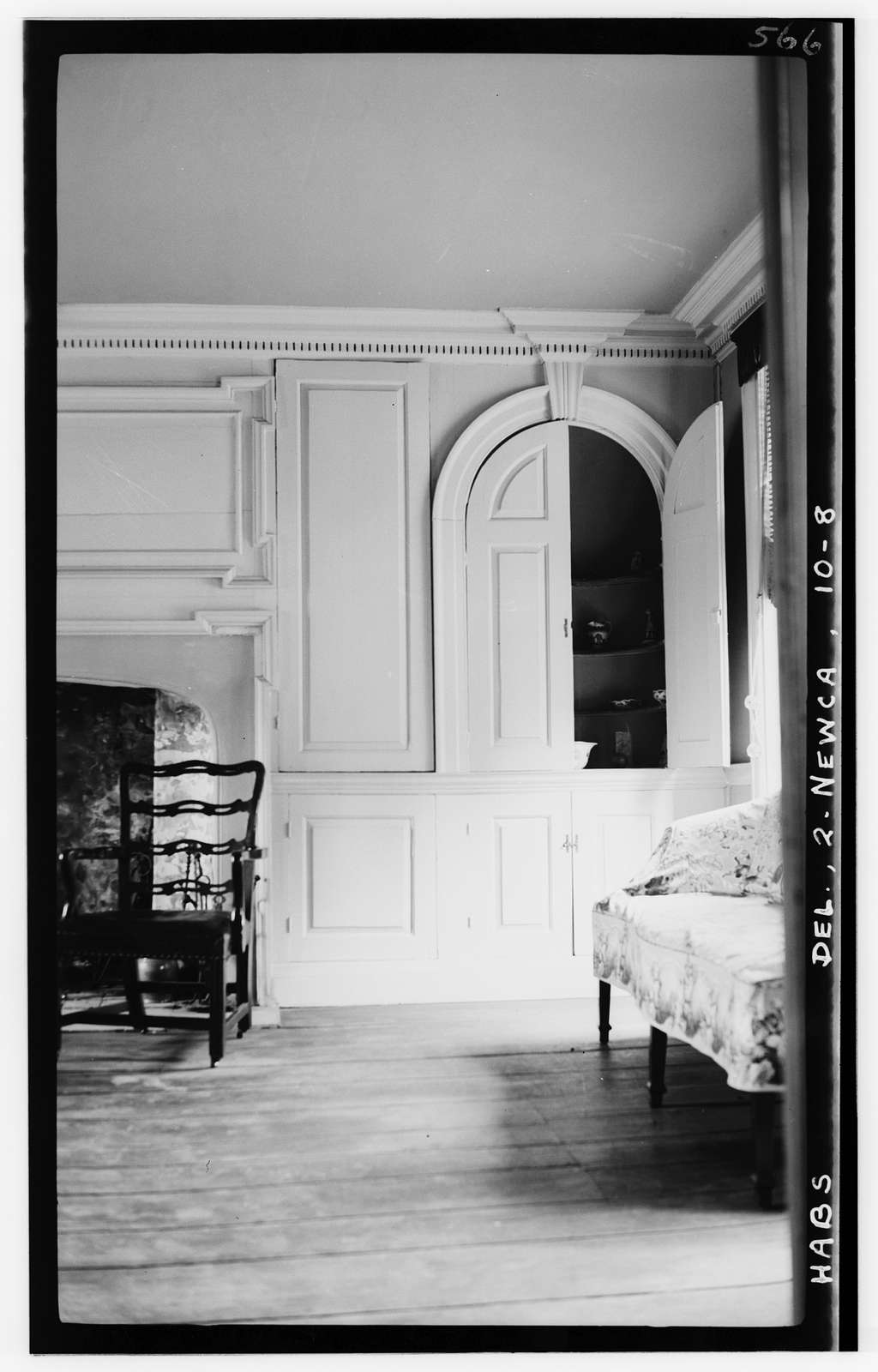 Amstel House, 2 East Fourth Street, New Castle, New Castle County, DE