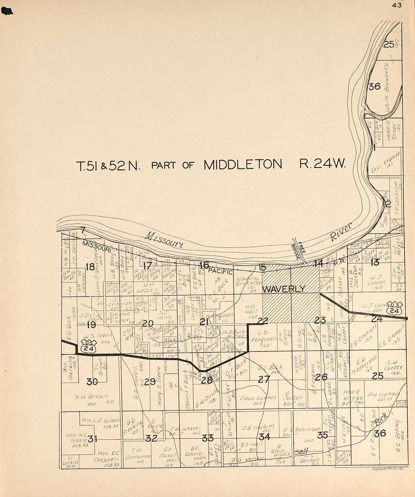 Atlas Of Lafayette County Missouri Picryl Public Domain