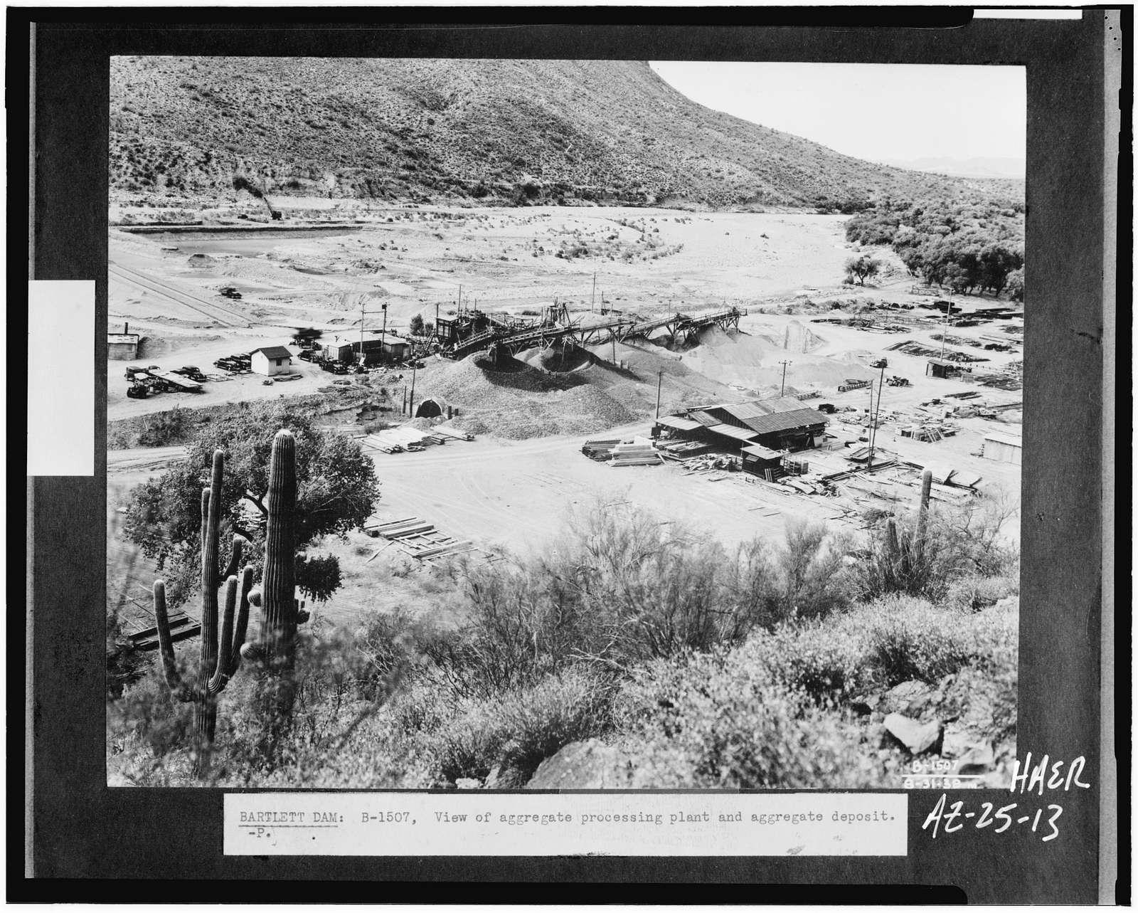 Bartlett Dam, Verde River, Phoenix, Maricopa County, AZ