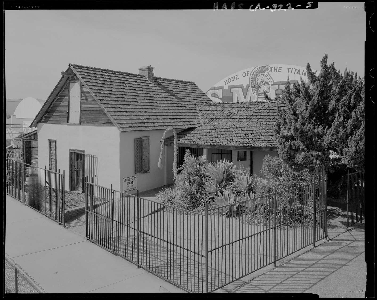 Casa de Miguel Blanco, 2701 Huntington Drive, San Marino, Los Angeles County, CA