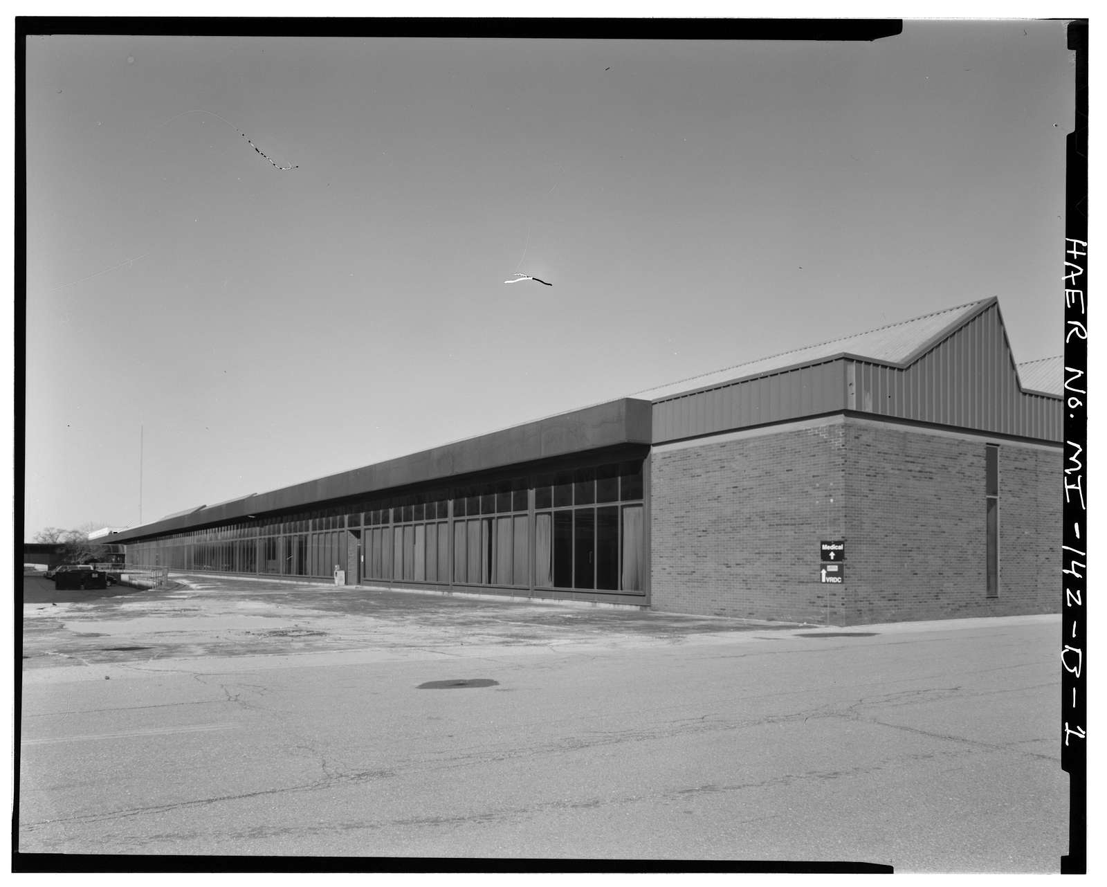 Chrysler Center, Plant No. 4, Highland Park, Wayne County, MI