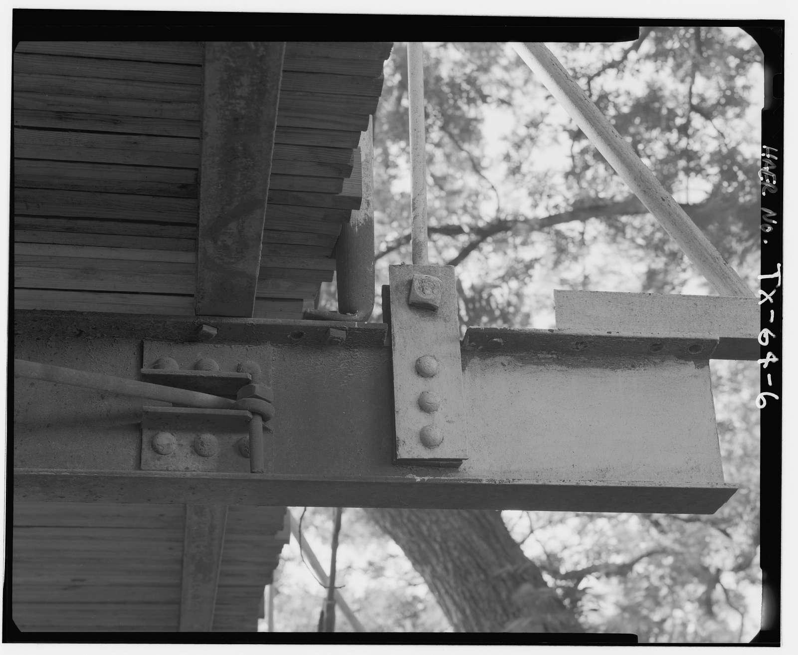 Clear Fork of Brazos River Suspension Bridge, Spanning Clear Fork of Brazos River at County Route 179, Albany, Shackelford County, TX
