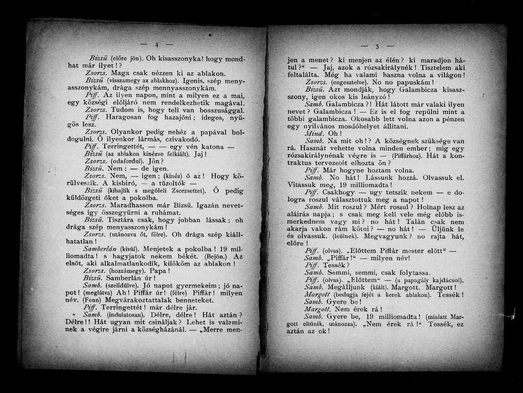 Coco. Libretto. Hungarian