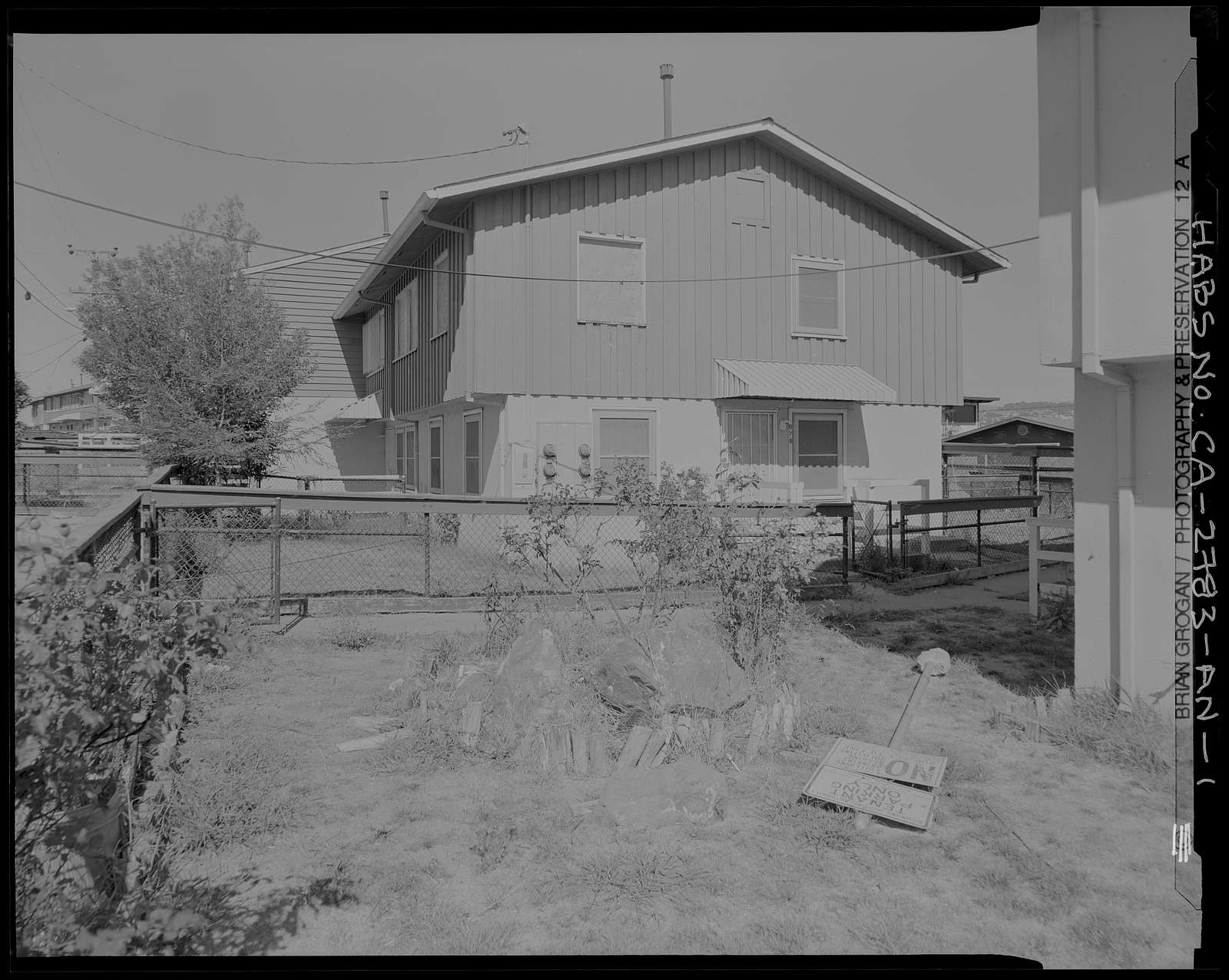 Easter Hill Village, Building No. 47, East side of South Twenty-eighth Street, north of Hinkley Avenue, Richmond, Contra Costa County, CA