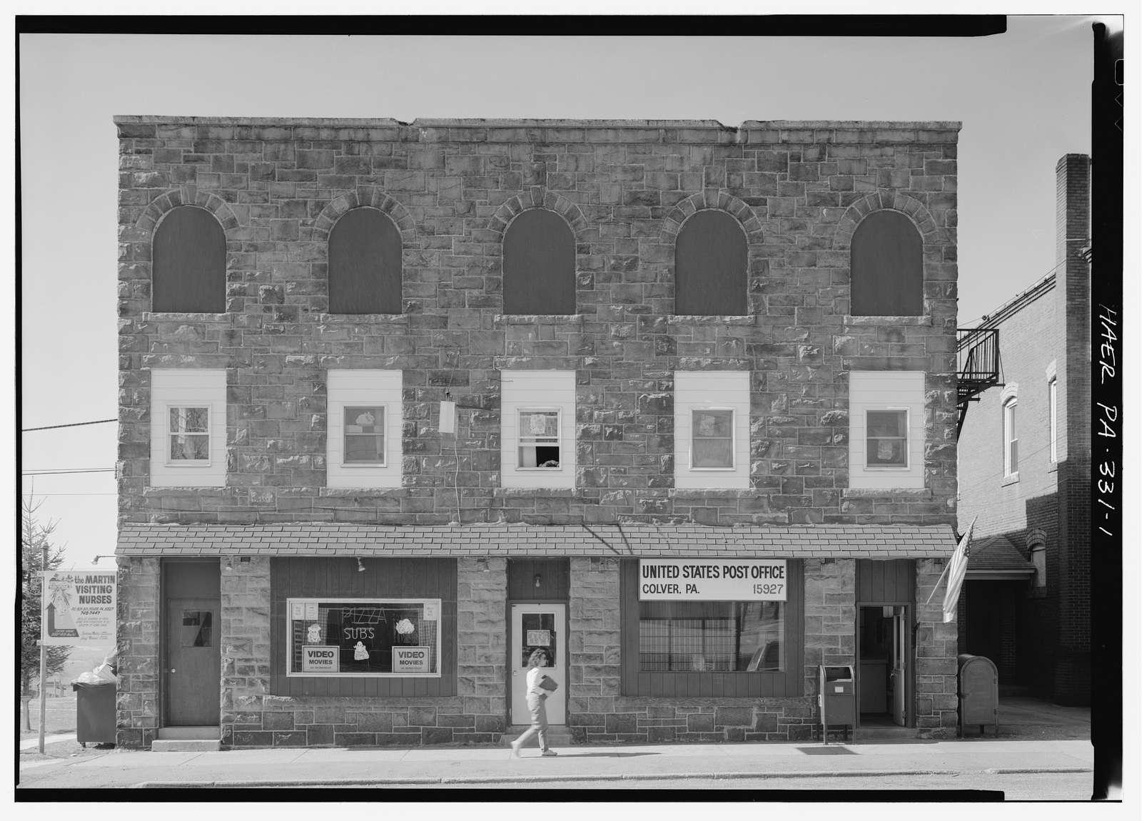 Ebensburg Coal Company, Office, Reese Avenue, Colver, Cambria County, PA