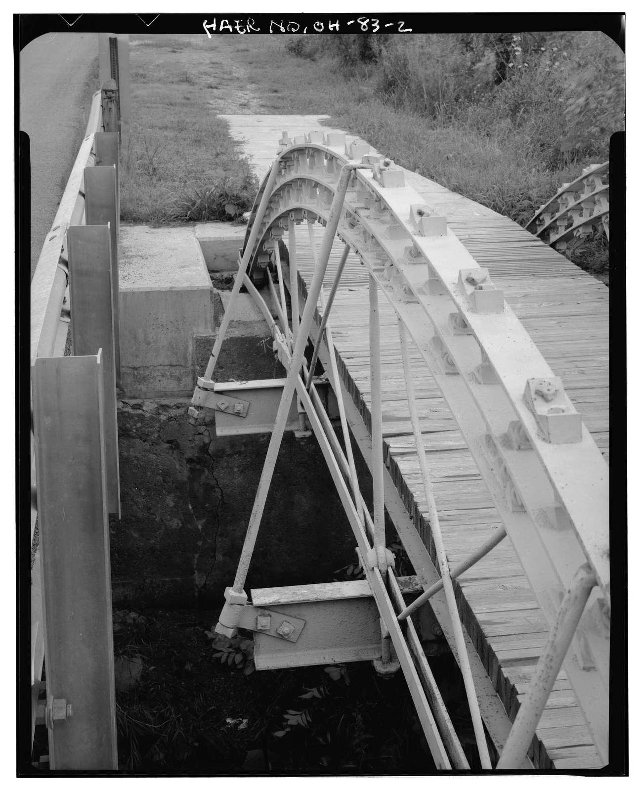 Egypt Pike Bridge, Egypt Pike (County Road 21) spanning Mud Run, New Holland, Pickaway County, OH