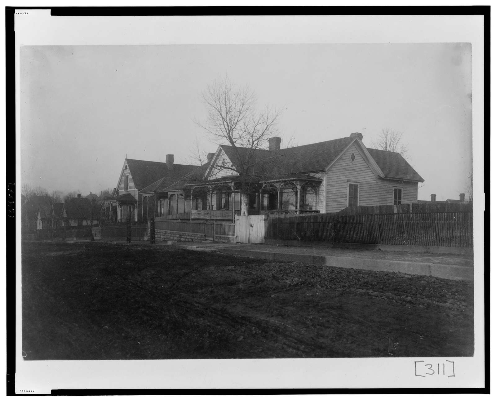 [Exterior view of houses in Georgia]