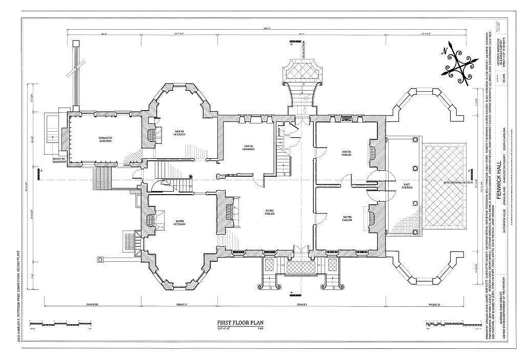 Fenwick Hall Plantation, Northeast of intersection of River Road & Maybank Highway, Johns Island, Charleston County, SC