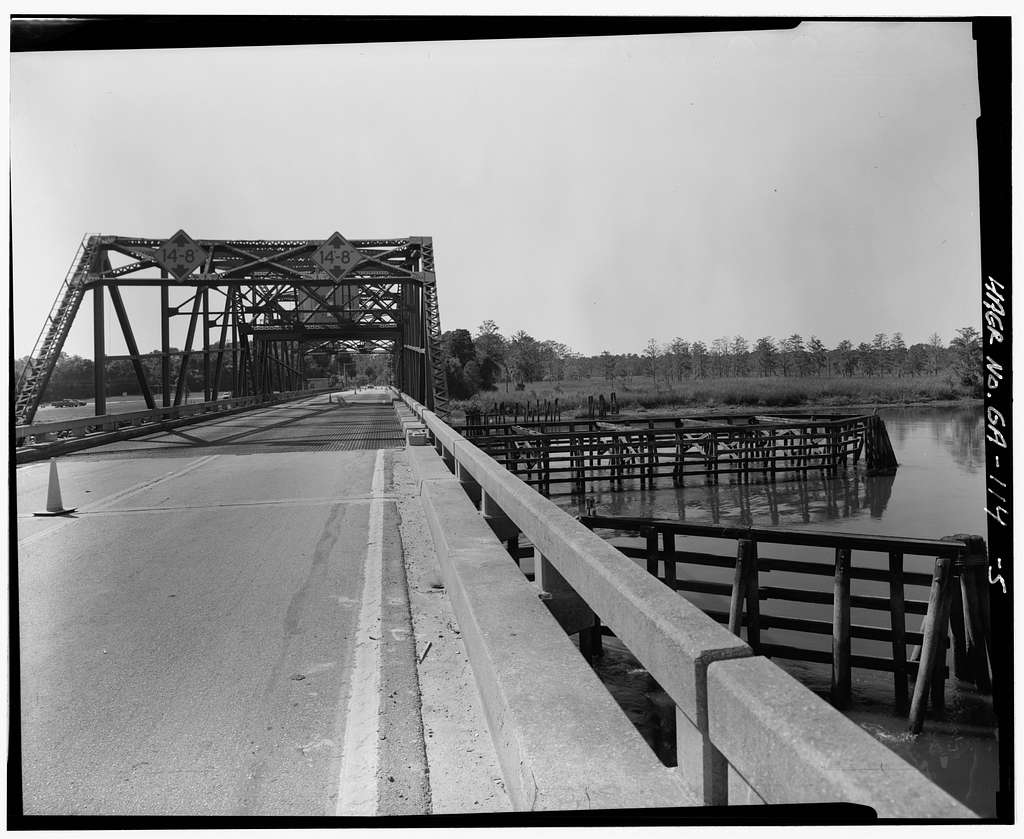 Georgia DOT Bridge No. 051-00025D-01986N, US 17 & State Route 25 Spanning Savannah River, Port Wentworth, Chatham County, GA