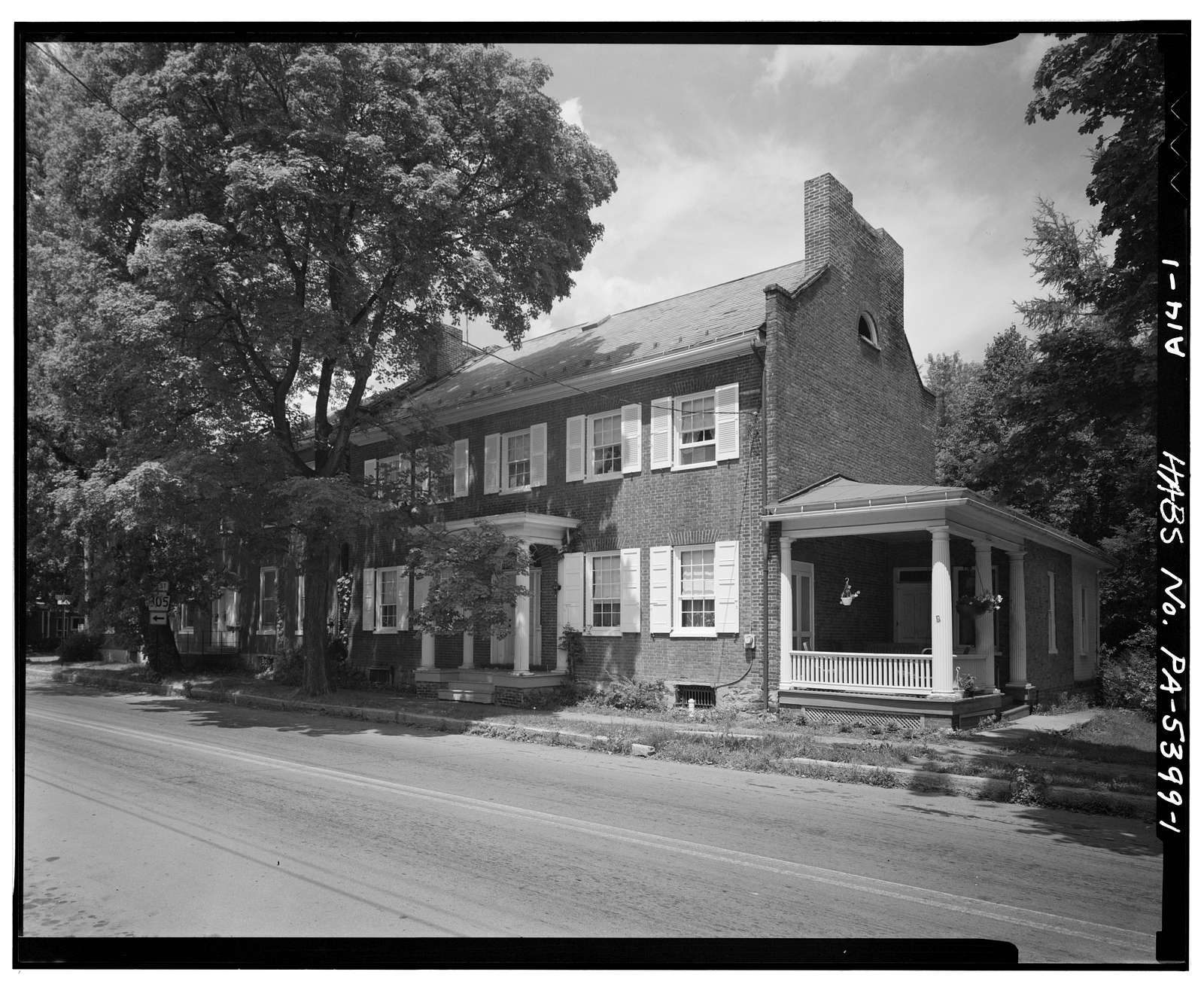 Israel Grafius House, 215 Main Street, Alexandria, Huntingdon County, PA