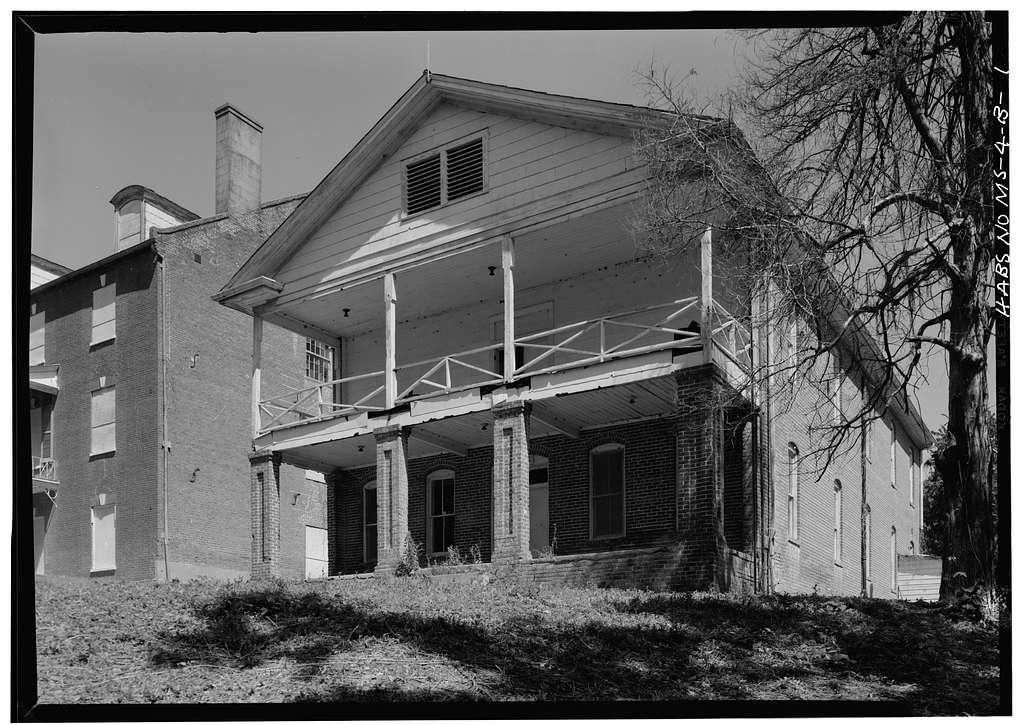 Jefferson College, Raymond Hall, North Street, Washington, Adams County, MS