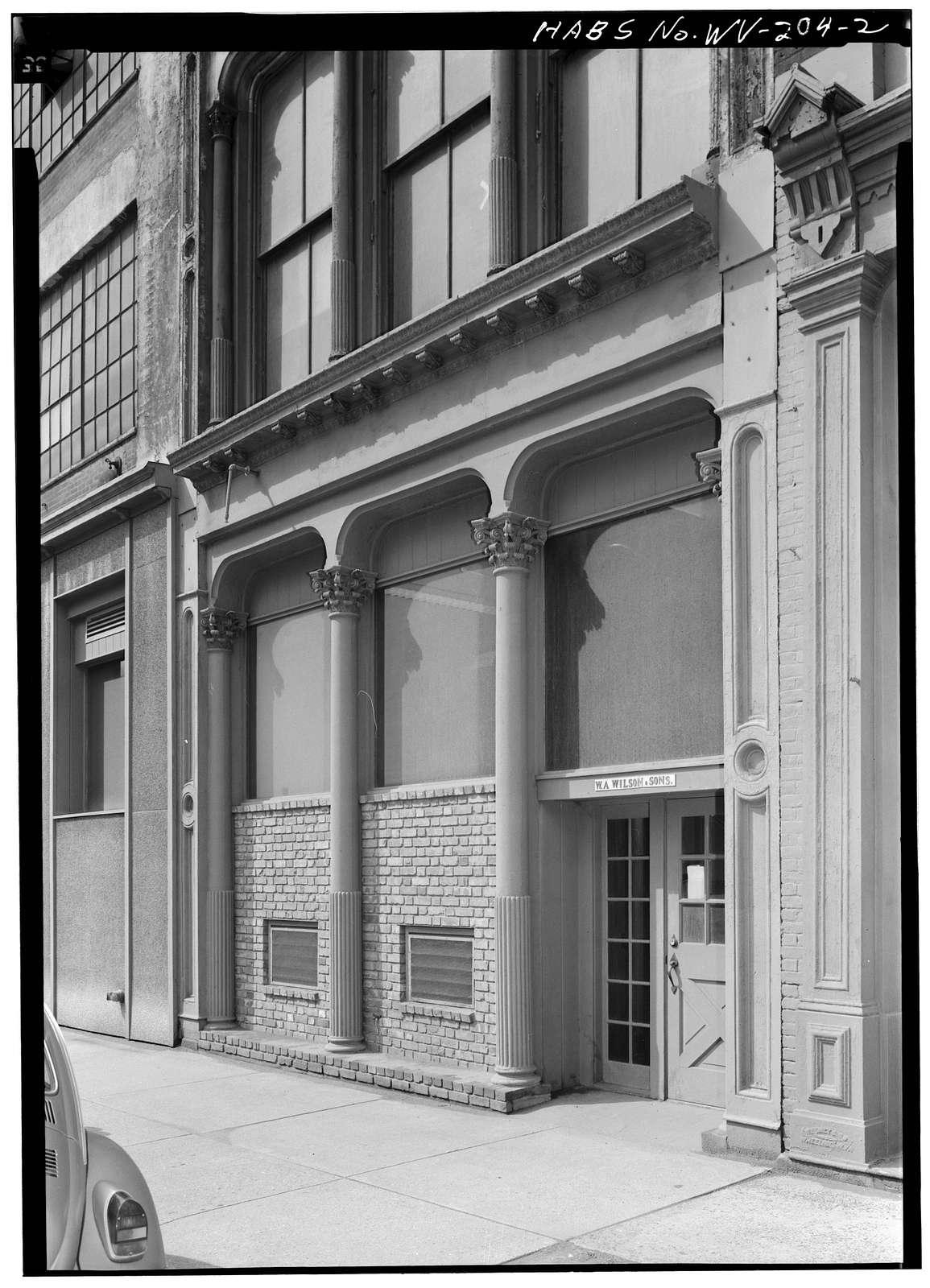 Joseph Speidel & Company Building, 1417 Main Street, Wheeling, Ohio County, WV