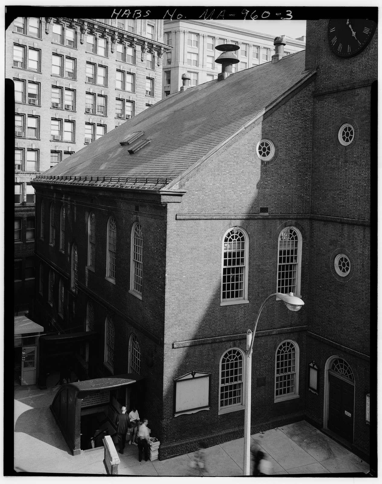 Old South Meetinghouse, Washington & Milk Streets, Boston, Suffolk County, MA