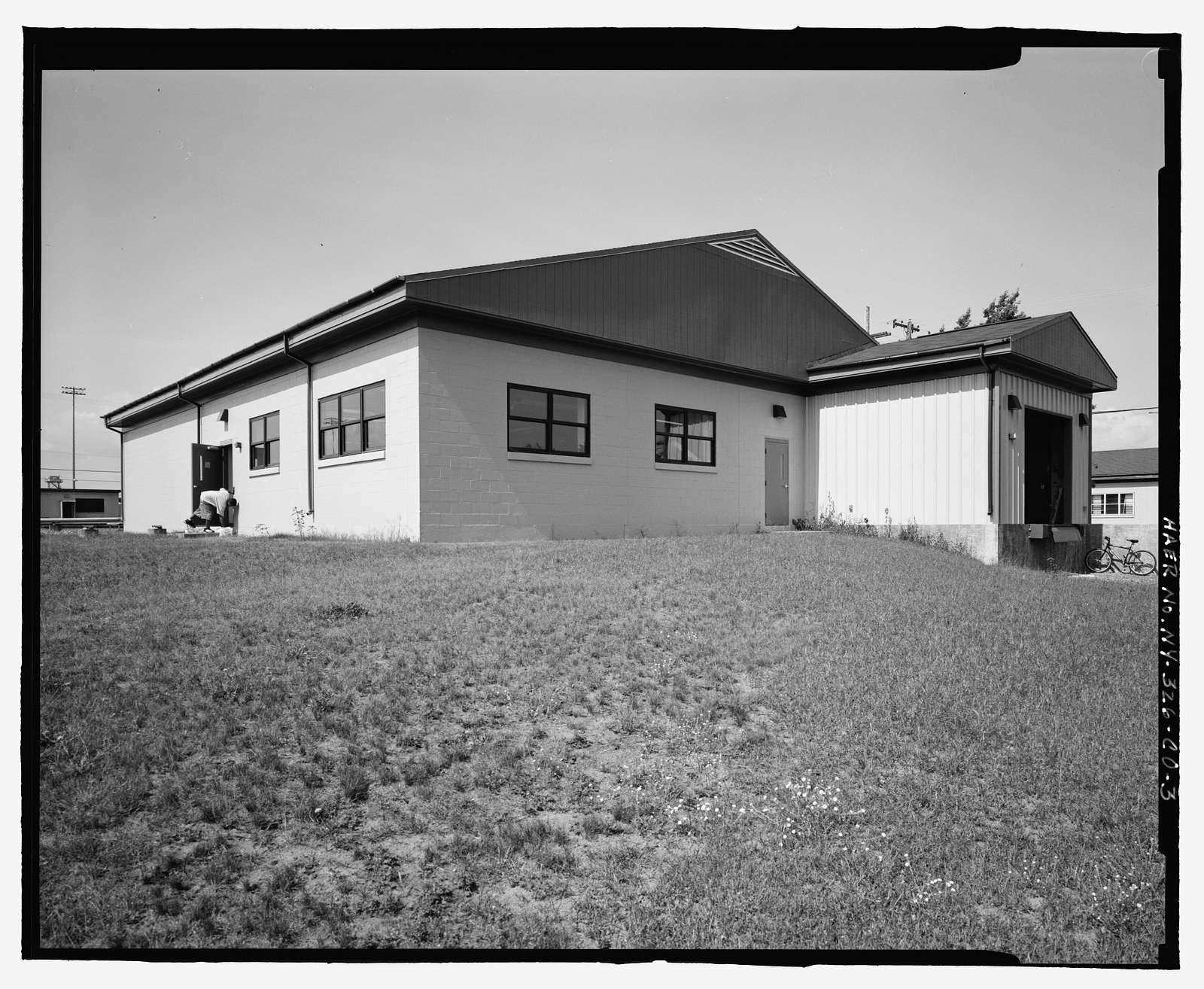 Plattsburgh Air Force Base, Squadron Operations Building, Florida Street, Plattsburgh, Clinton County, NY