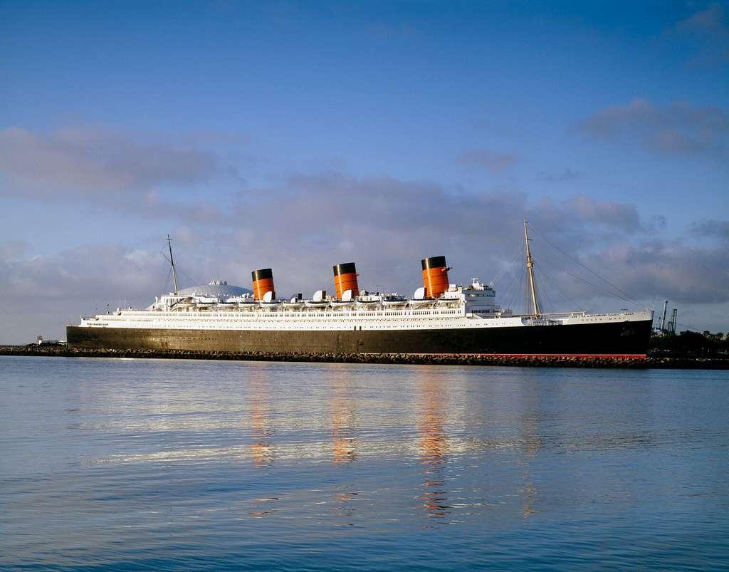 Queen Mary ship, Long Beach, California