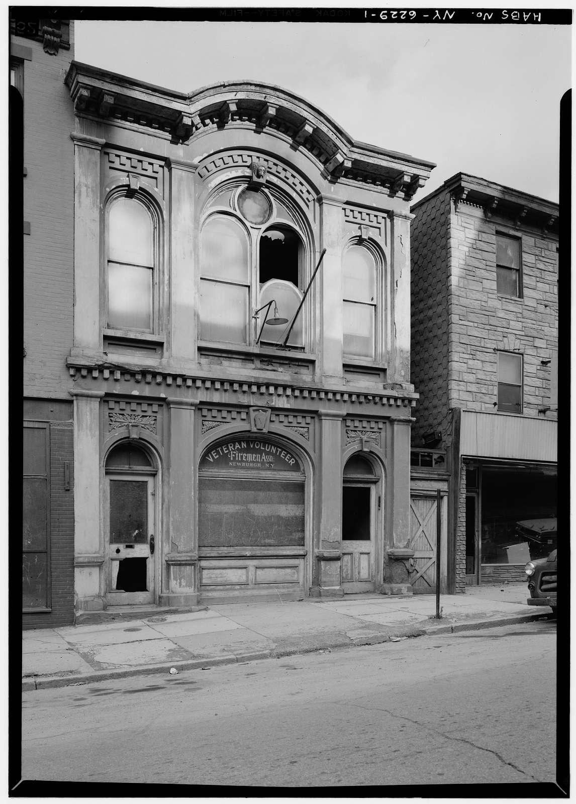 Ringgold Fire Company Firehouse, 63 Colden Street, Newburgh, Orange County, NY