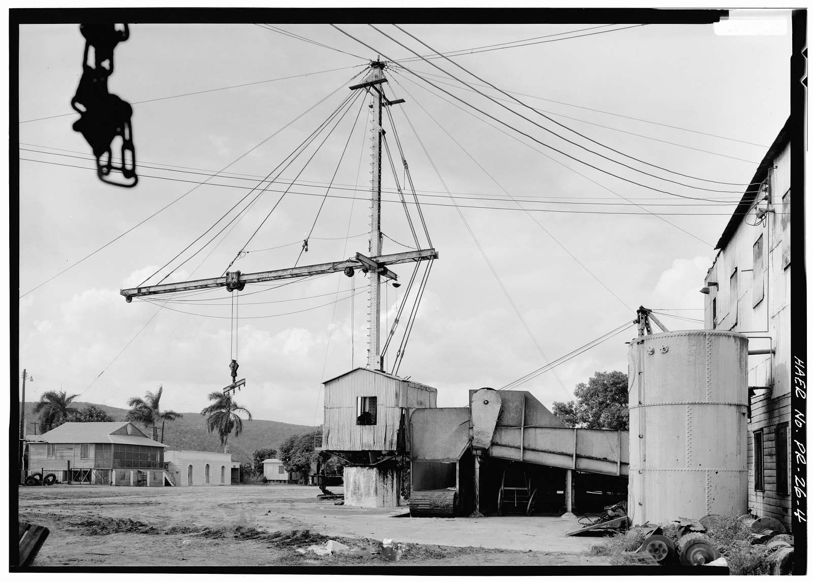 San Francisco Sugar Central, Indios, Guayanilla Municipio, PR