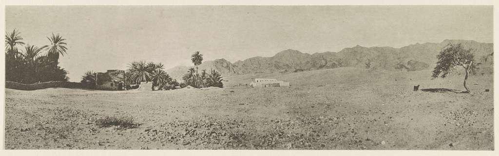 Sinaihalbinsel Ostseite, Ehemaliger ägyptischer Posten Nuwêbiʻ. 1914.