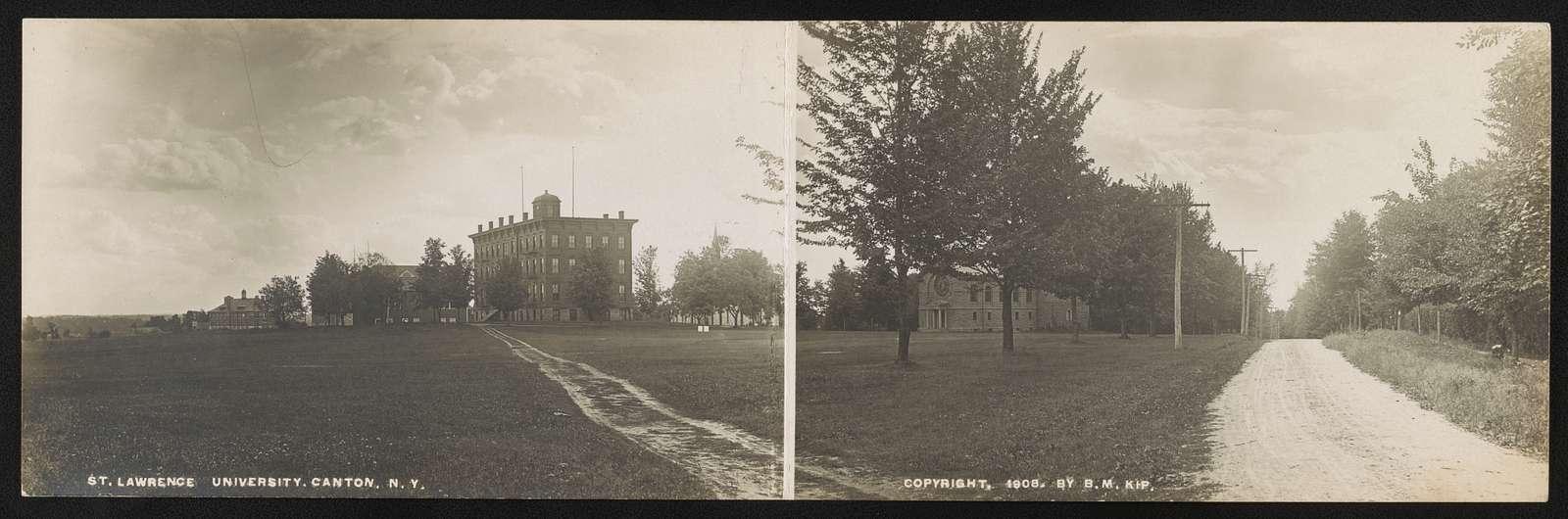 St. Lawrence University, Canton, N.Y.