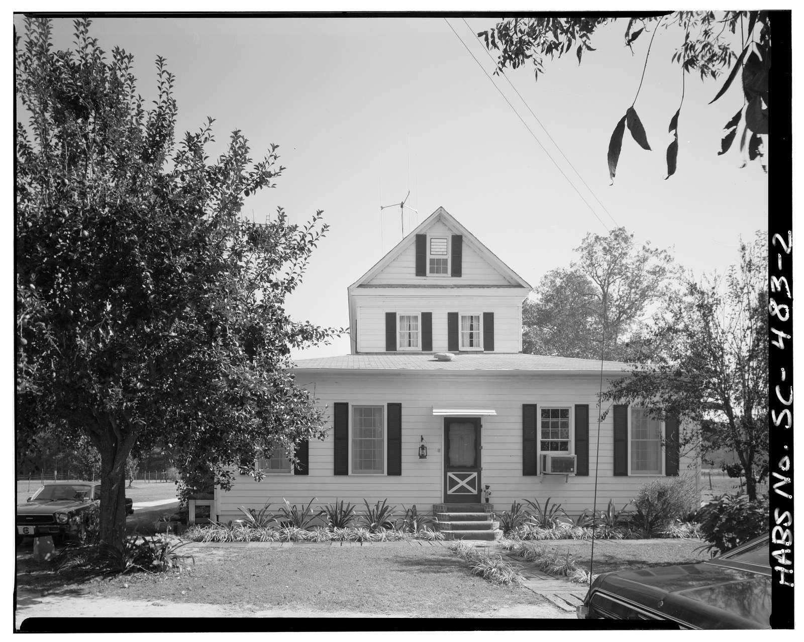 Stephan Williams House, U.S. Route 176, Holly Hill, Orangeburg County, SC