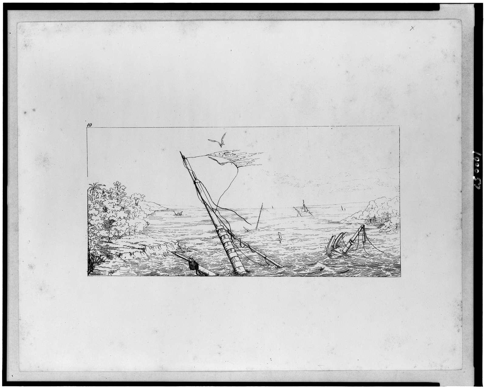 Stone blockade off Charleston