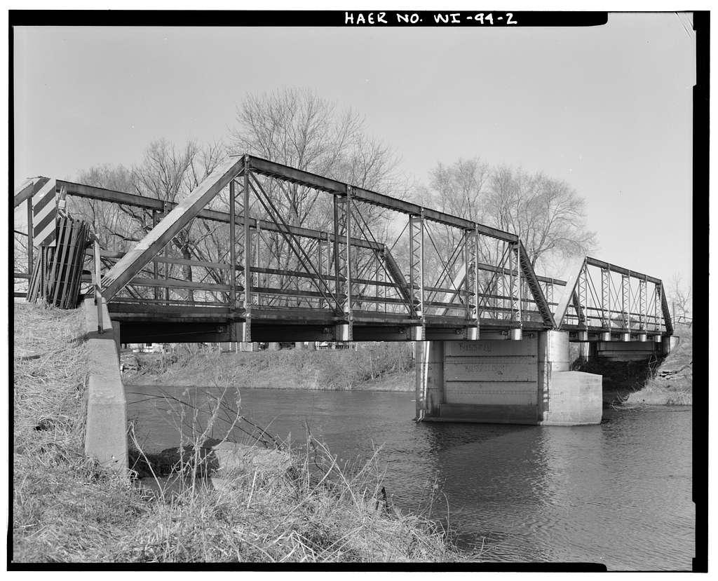 Ten Eyck Road Bridge, Spanning Sugar River, Brodhead, Green County, WI