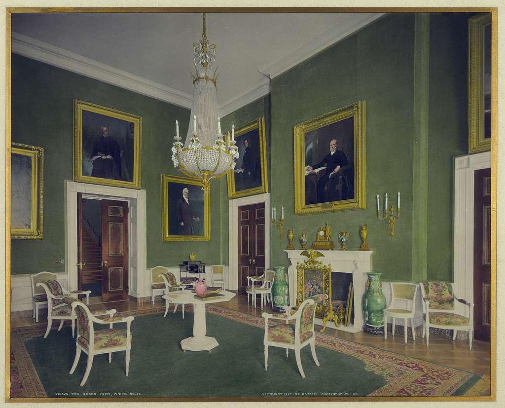 The Green Room, White House