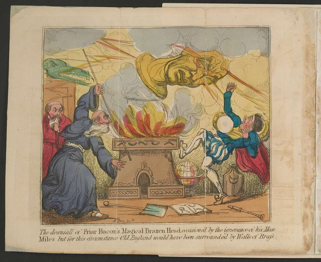 The Honorable Historie of frier Bacon, and frier Bongay