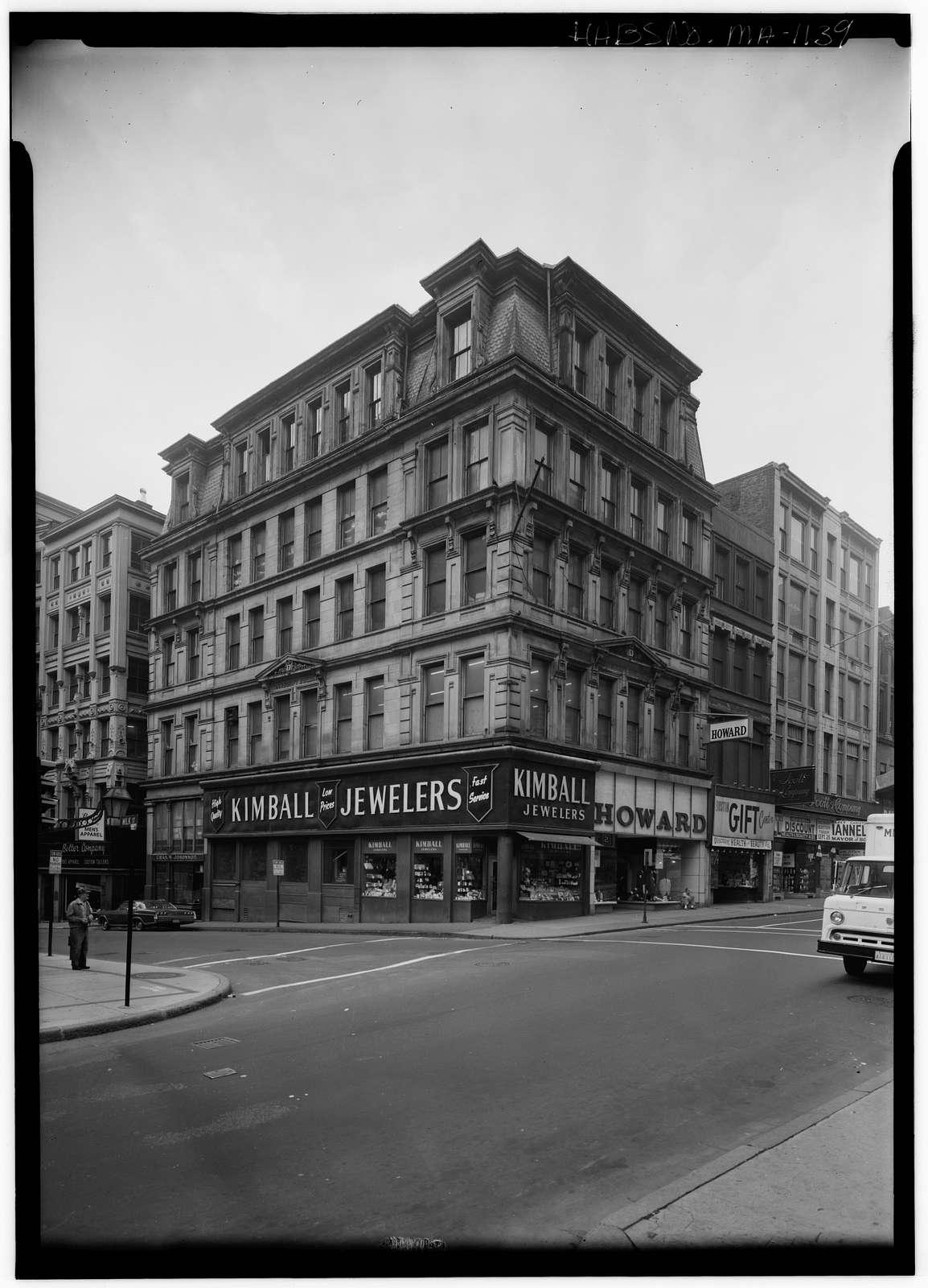 Transcript Building, Washington & Milk Streets, Boston, Suffolk County, MA