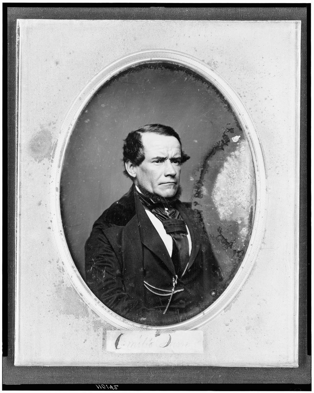 [Unidentified man, half-length portrait, three-quarters to the right]