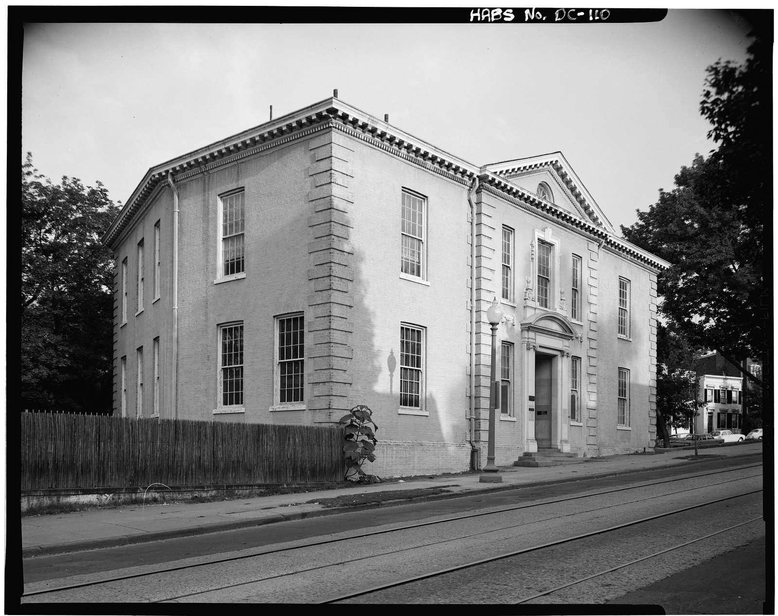 West Georgetown School, 1640 Wisconsin Avenue Northwest, Washington, District of Columbia, DC