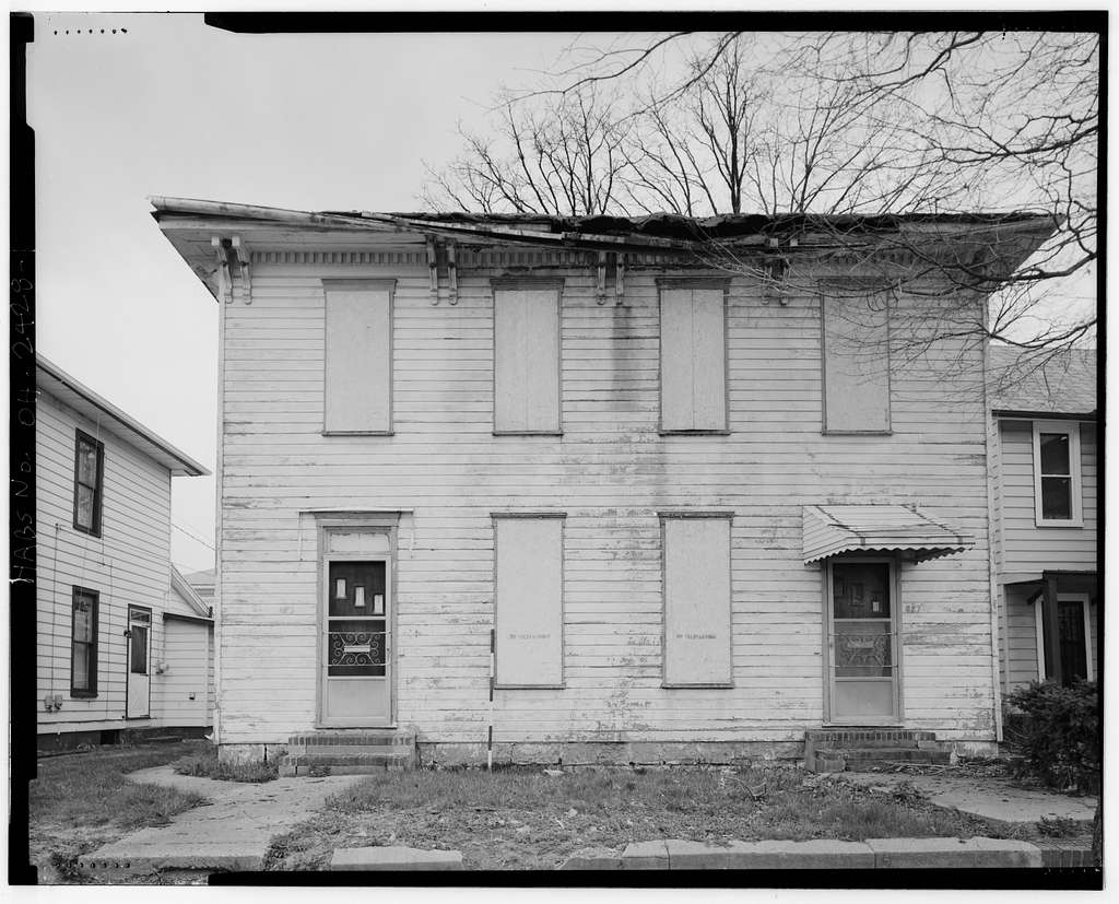 627-629 South Wittenberg Avenue (house), Springfield, Clark County, OH
