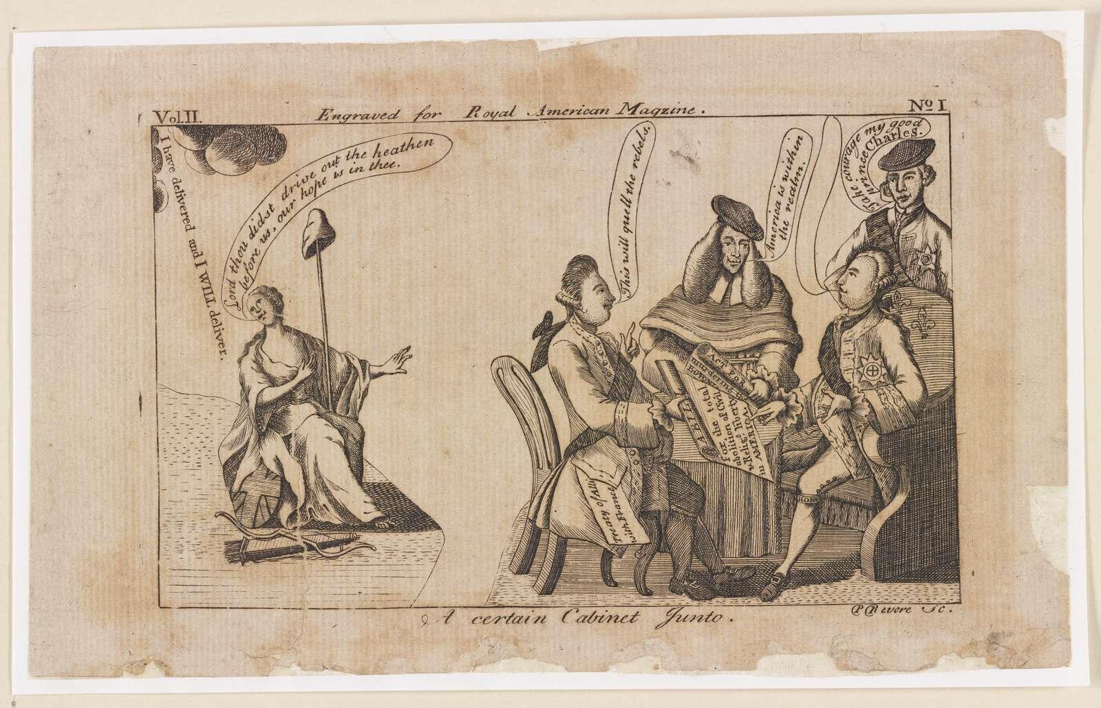 A certain cabinet junto / P. Revere, sc.