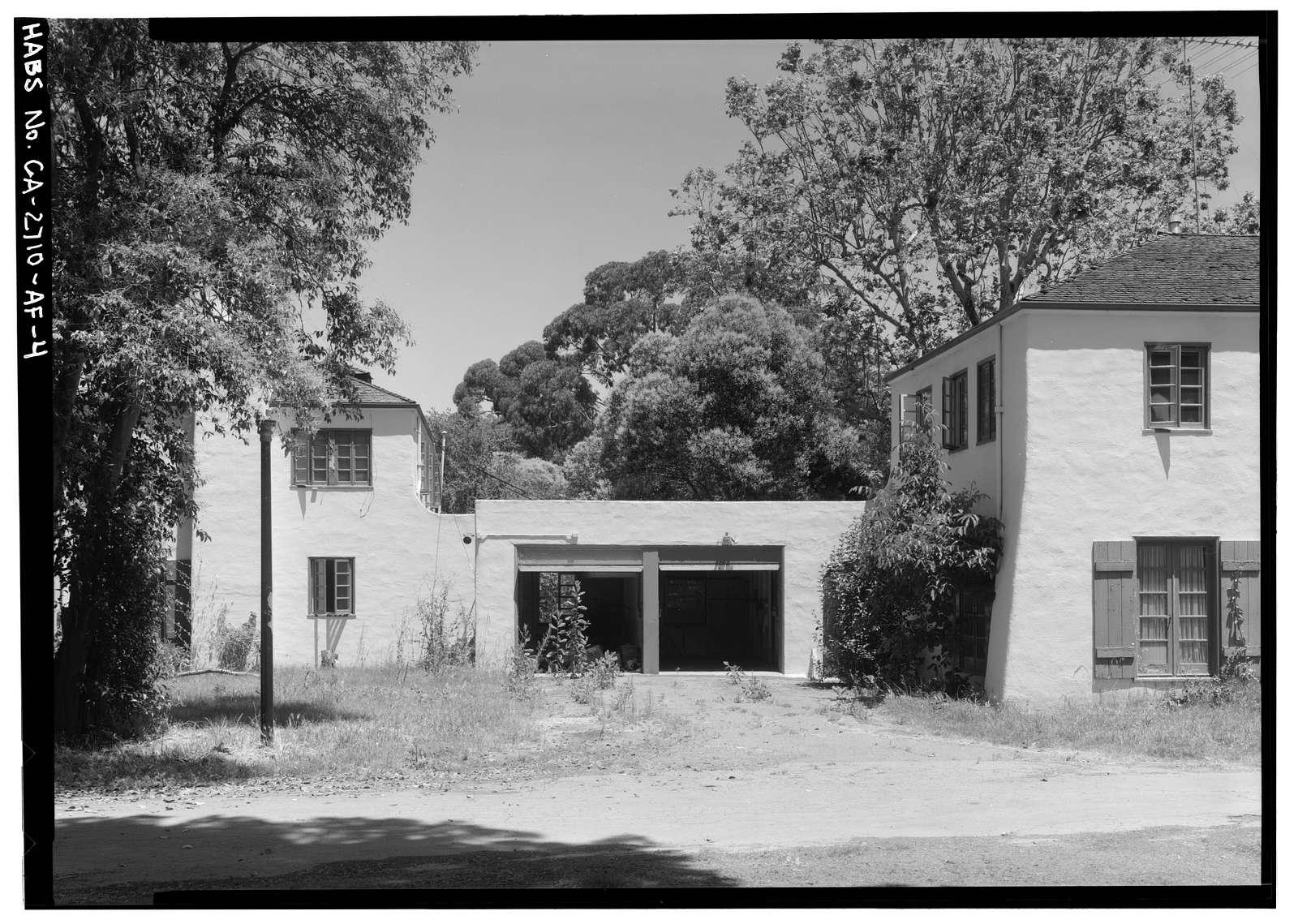 Agnews State Hospital, Physician's Cottage No. 5, South Side of Palm Drive, Santa Clara, Santa Clara County, CA