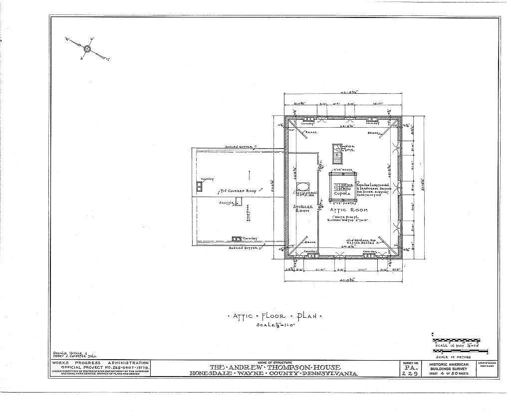 Andrew Thompson House, Honesdale, Wayne County, PA