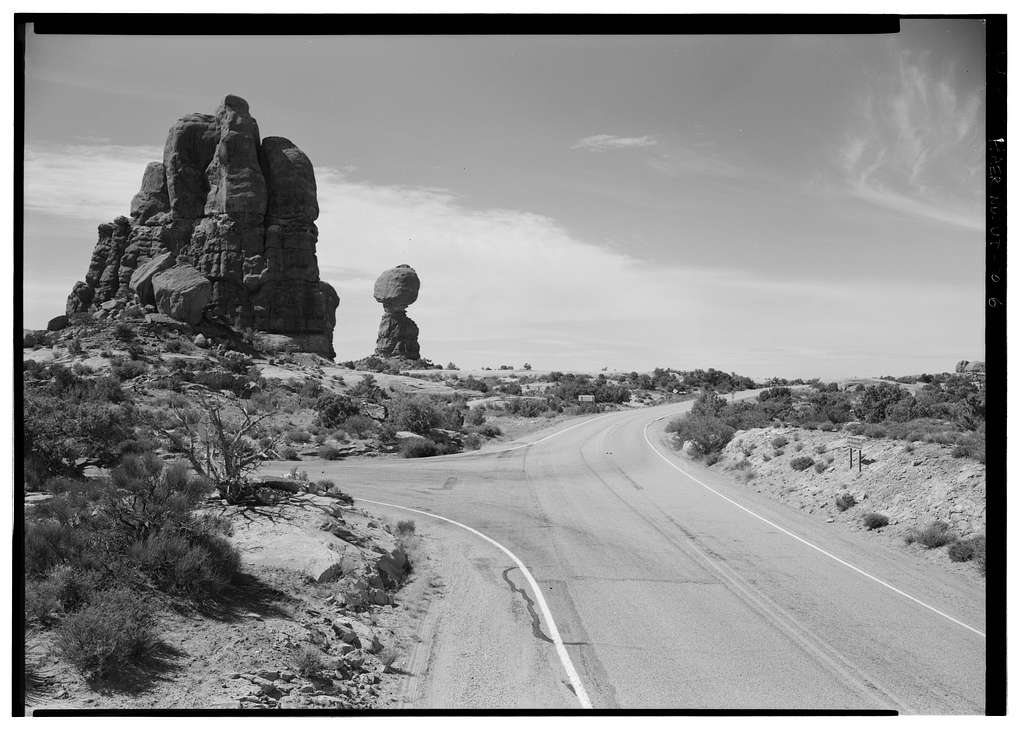 Arches National Park Main Entrance Road, Beginning at U.S. Highway 191, approximately 6 miles north of Moab, Moab, Grand County, UT