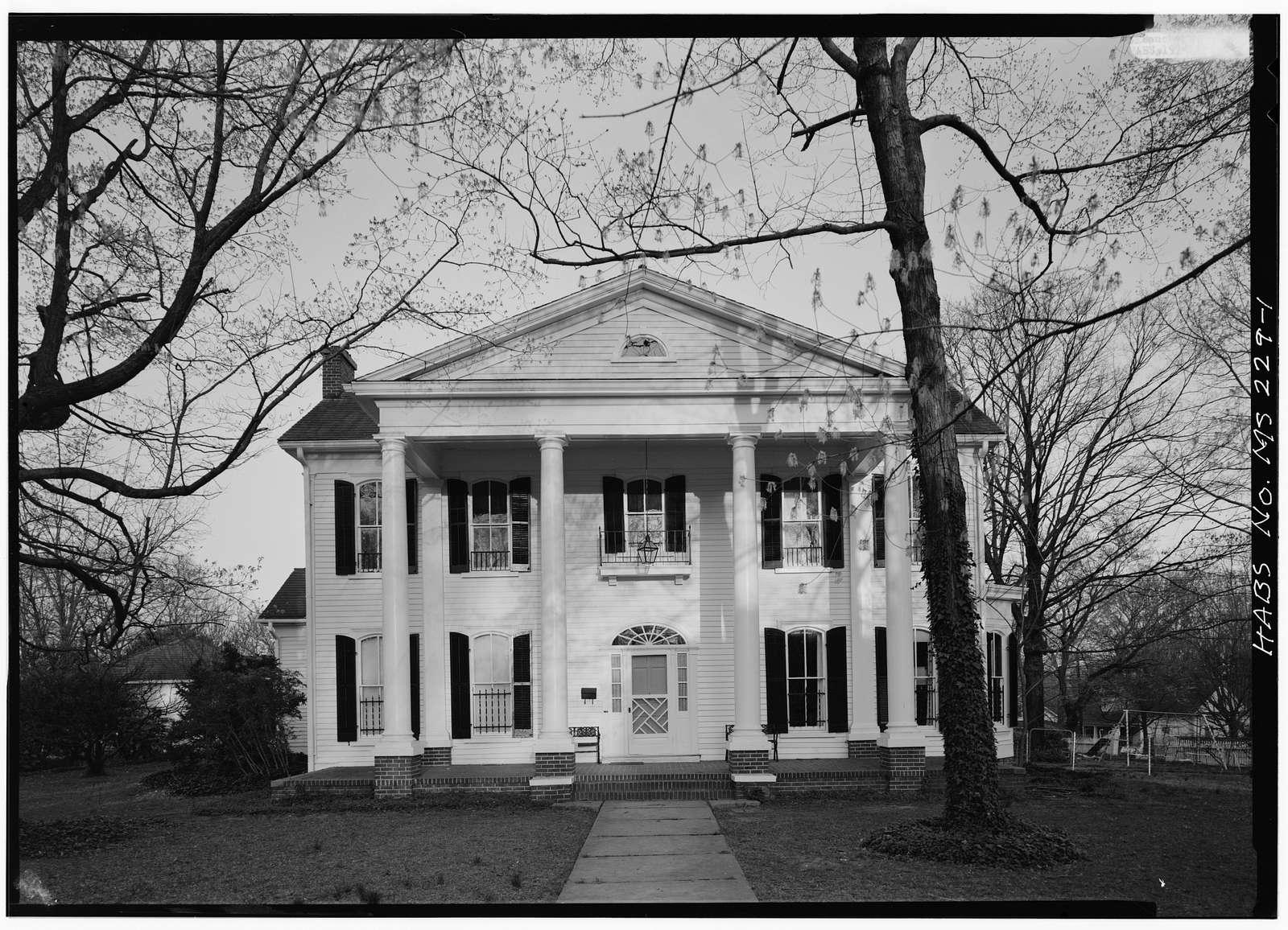 Bailey Williams House, Corinth, Alcorn County, MS