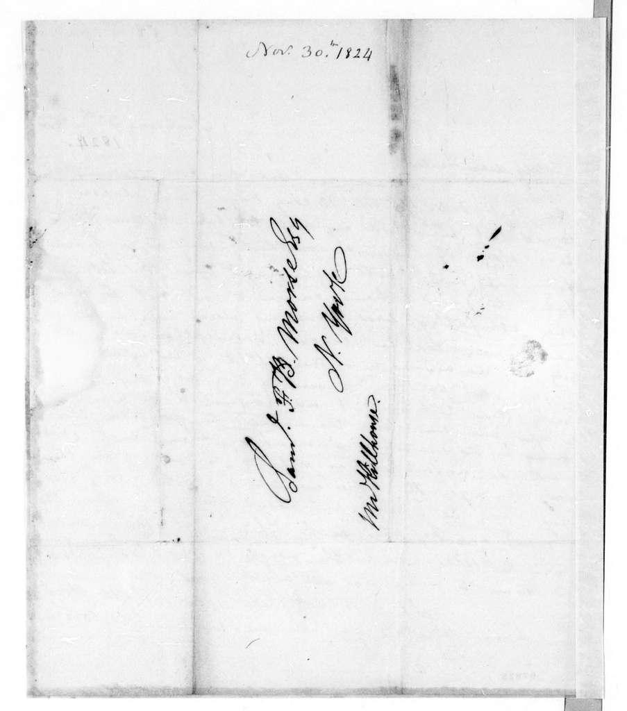 Bound volume---9 December 1823-9 February 1828