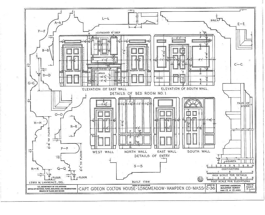 Captain Gideon Colton House, 1028 Longmeadow Street, Longmeadow, Hampden County, MA