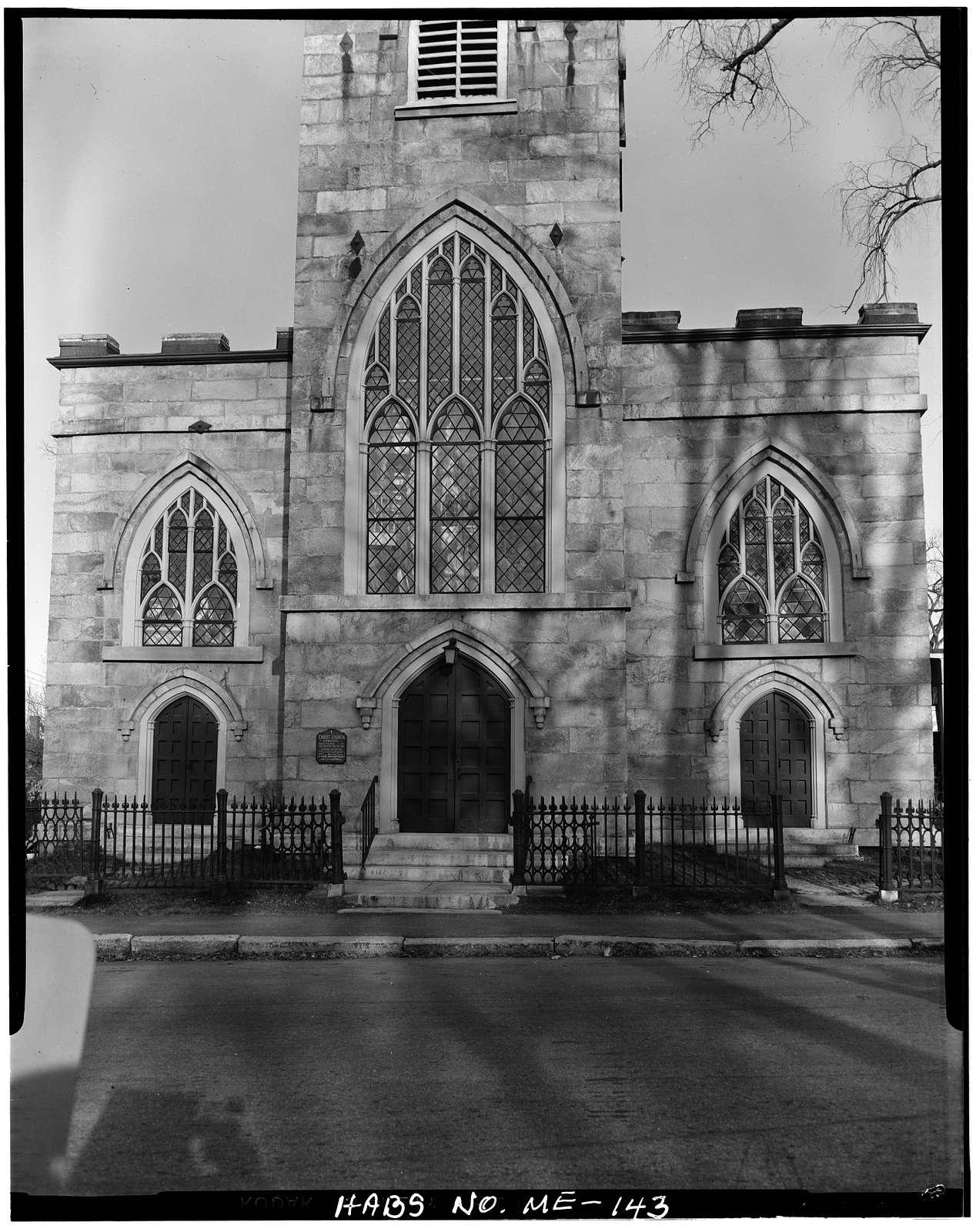 Christ Church (Episcopal), 1 Dresden Avenue, Gardiner, Kennebec County, ME