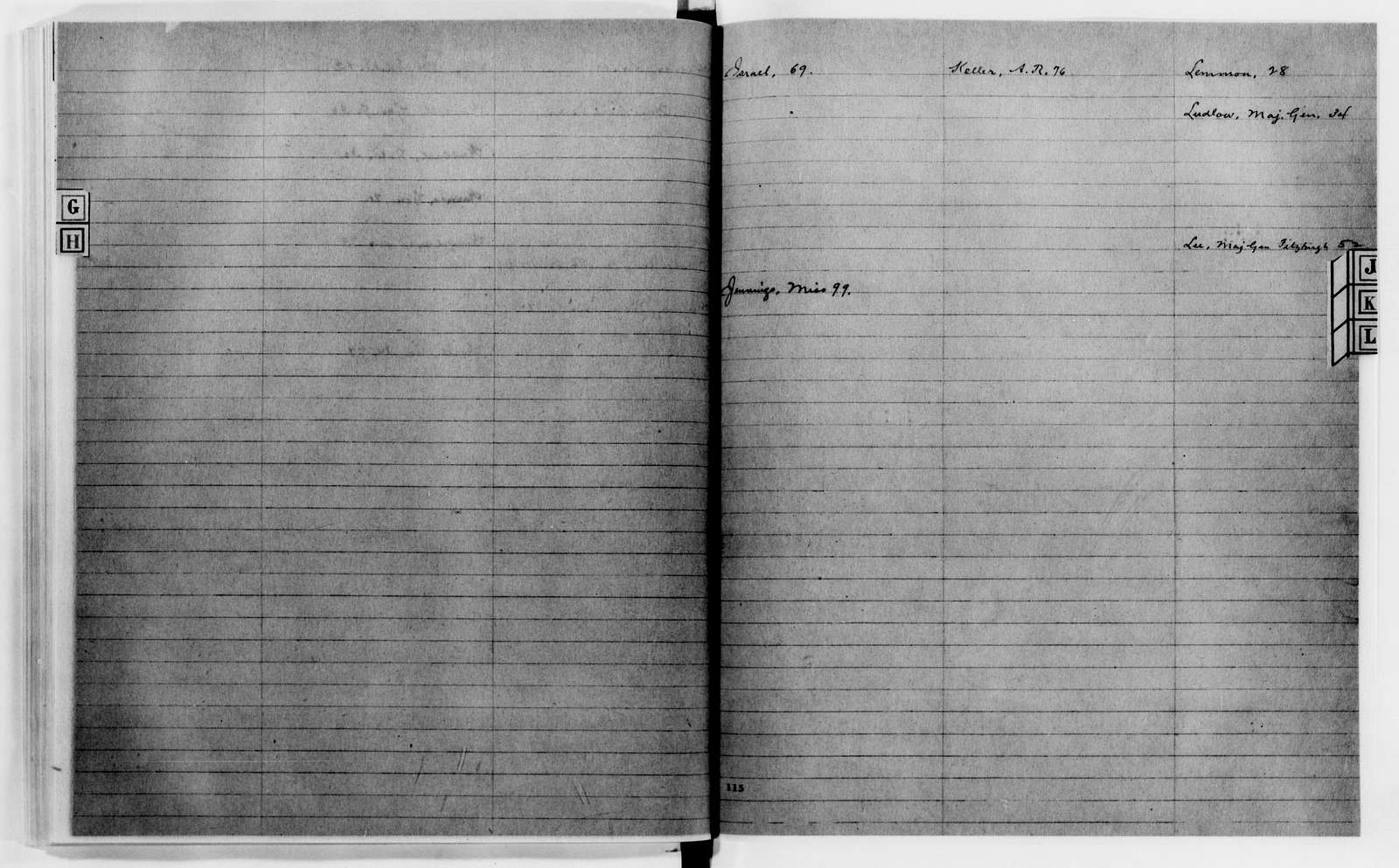 Clara Barton Papers: Letterbooks, 1876-1911; 1899, May-July