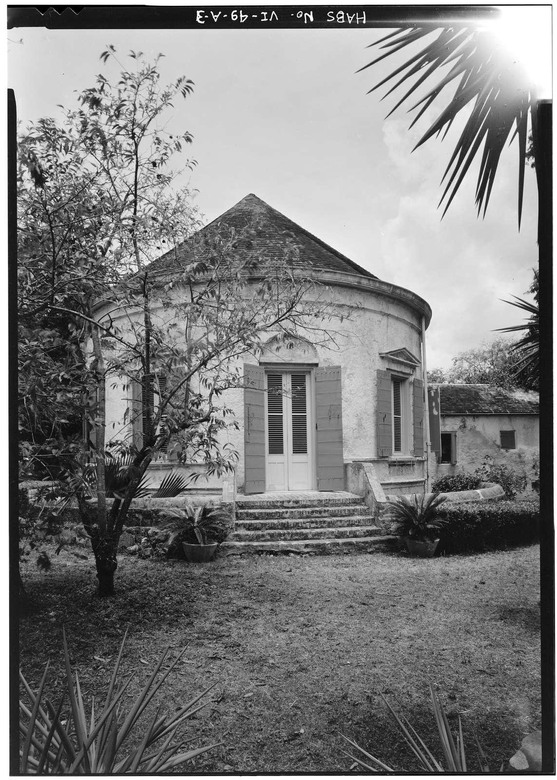 Estate Whim, Great House, Centerline Road, Whim, St. Croix, VI