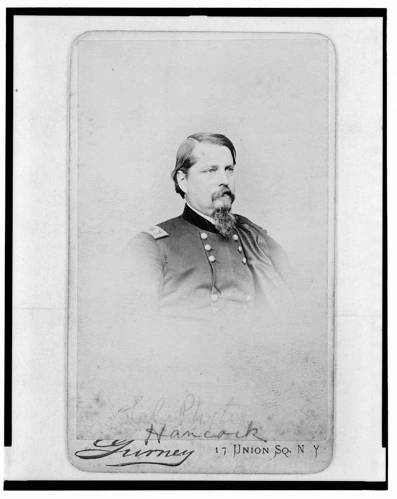 [General Winfield Scott Hancock, head-and-shoulders portrait, in uniform, facing right] / Gurney.