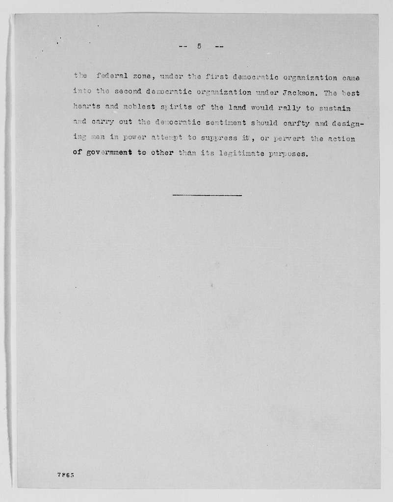 """Gideon Welles Papers: Speeches and Writings, 1822-1878; Articles and other writings; """"National Conventions and the Demand for the Reorganization of the Democratic Party"""""""