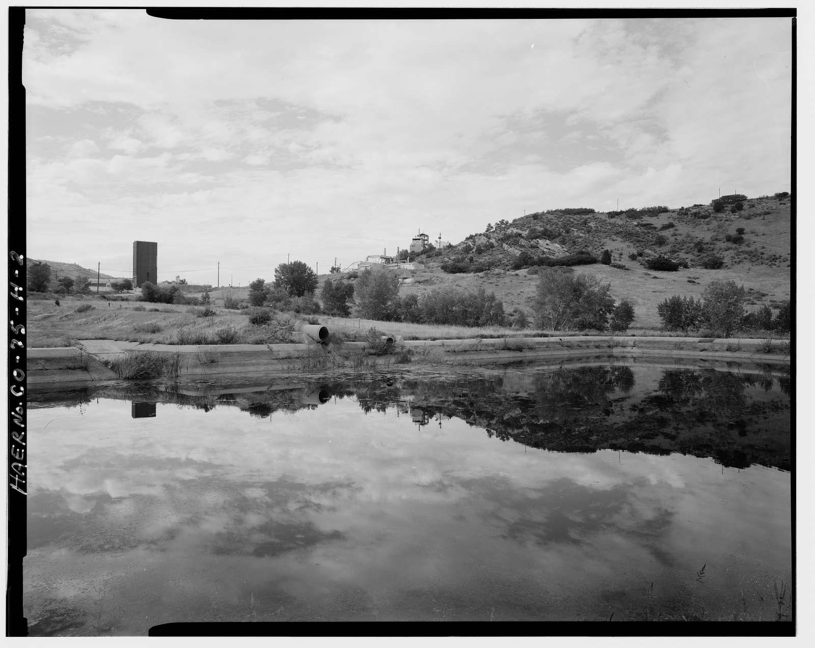 Glenn L. Martin Company, Titan Missile Test Facilities, Catch Basin, Waterton Canyon Road & Colorado Highway 121, Lakewood, Jefferson County, CO