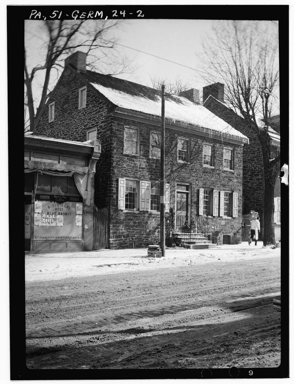 Grumblethorpe Tenant House, 5269 Germantown Avenue, Philadelphia, Philadelphia County, PA