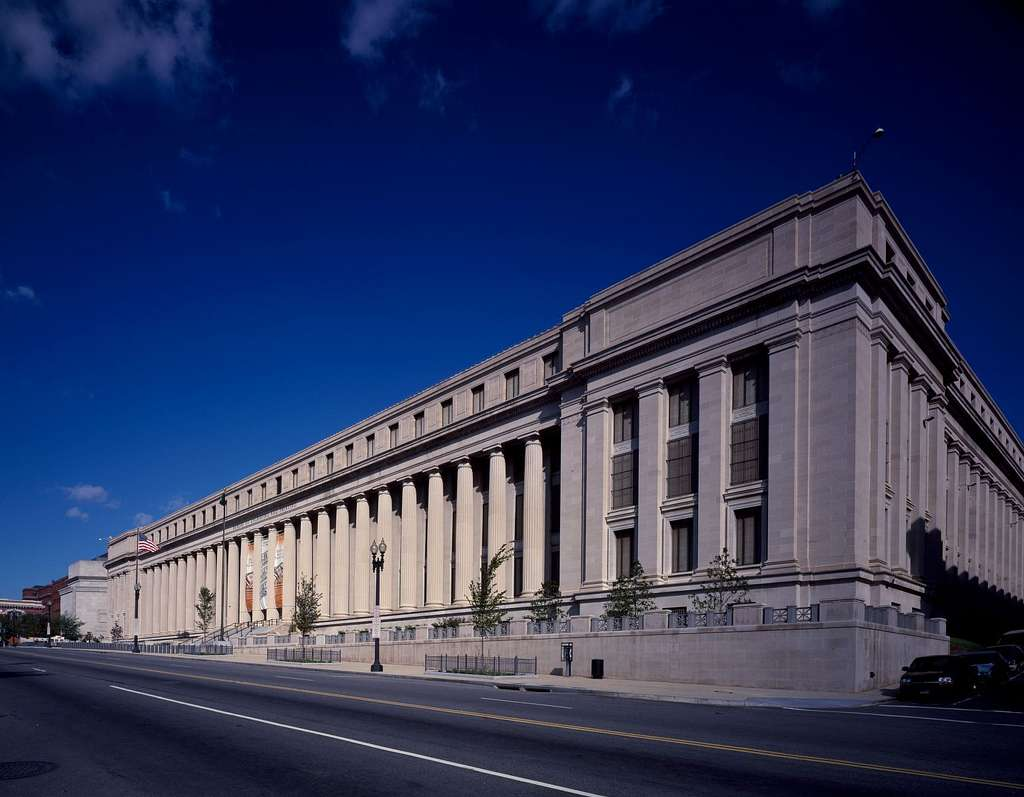Headquarters building of the U.S. Mint, Washington, D.C.