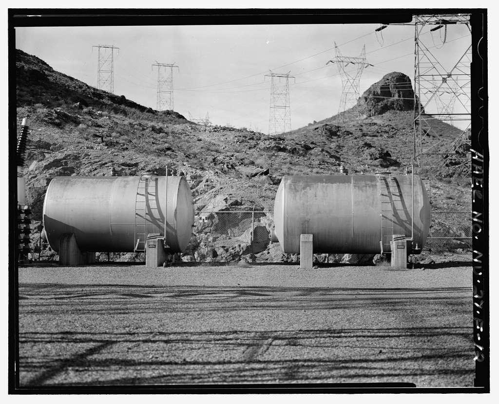 Hoover Dam, Arizona-Nevada Switchyard, U.S. Highway 93, Boulder City, Clark County, NV