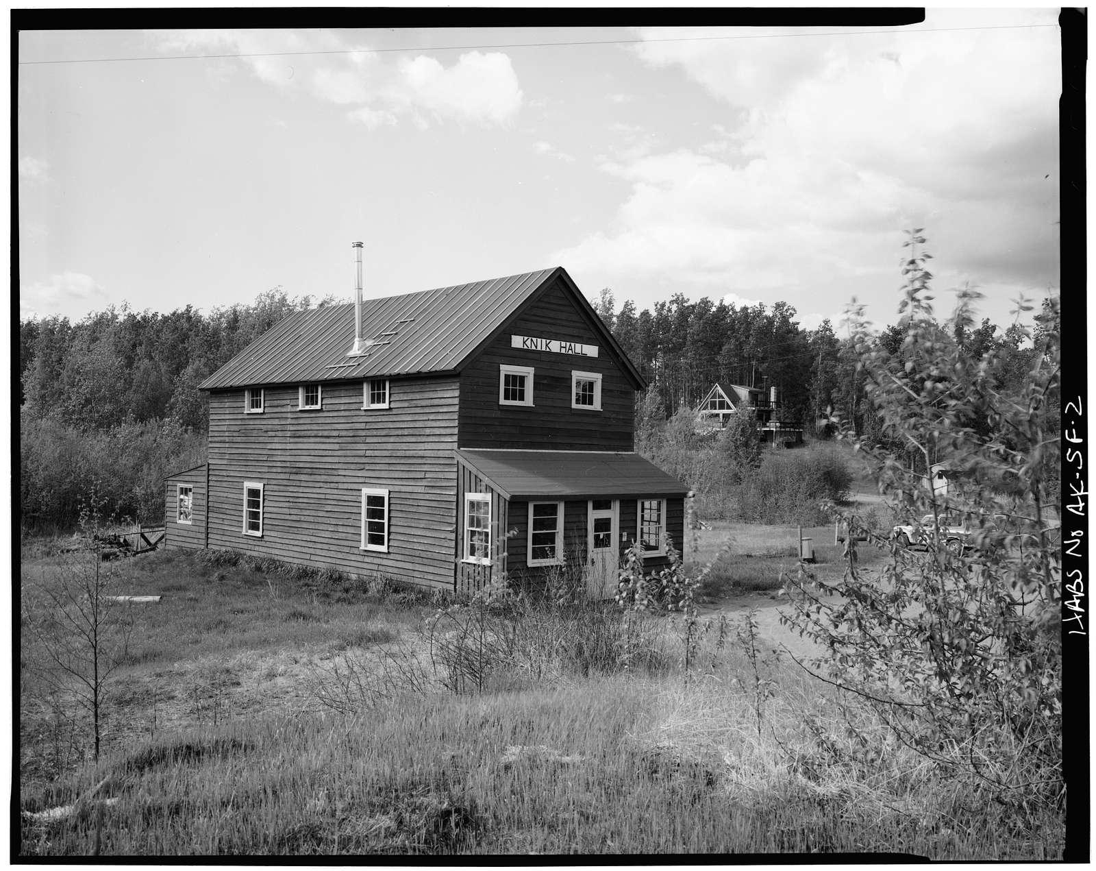 Iditarod Trail Shelter Cabins, Knik Hall, Knik, Matanuska-Susitna Borough, AK